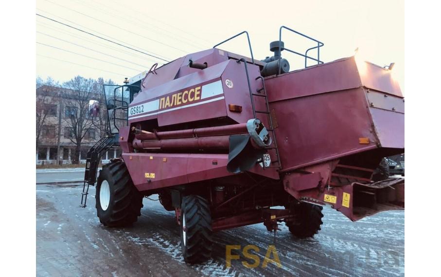 ГОМСЕЛЬМАШ - ПАЛЕССЕ GS812 КОМБАЙН